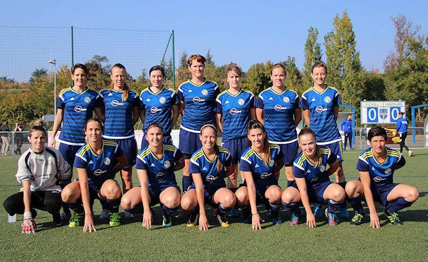 Les filles du FC Pontcharra Saint-Loup continuent leur aventure en Coupe de Frane cette saison (photo FCPSL).