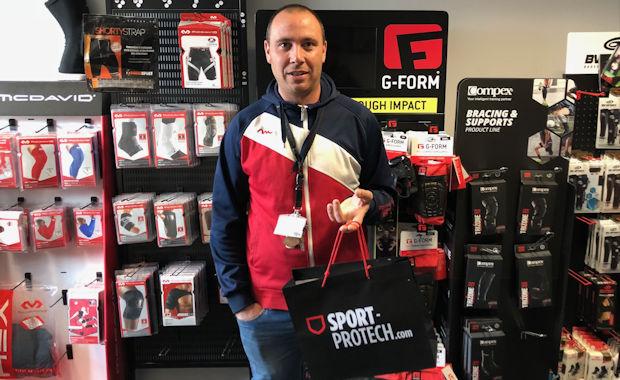 Pascal Lettieri (vétéran FC Sainte-Foy les Lyon)