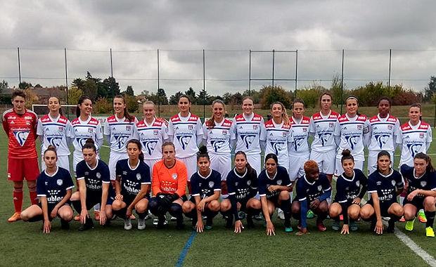 Première victoire pour les féminines de l'ES Genas en R1, contre l'OL.