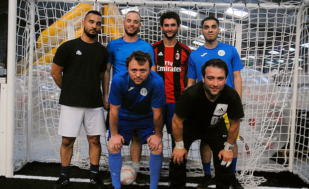 L'Olympique Foot5 de Raphaël Luisetti