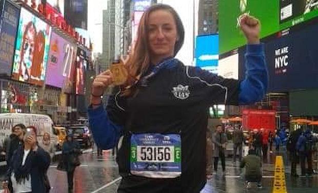 Alice Berard, une Sud Lyonnaise au Marathon de New-York