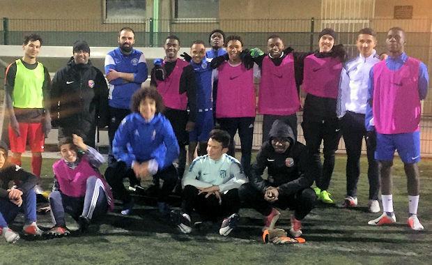 Une séance spéciale pour les U19 du FC Vénissieux de son ami Fayçal Miled