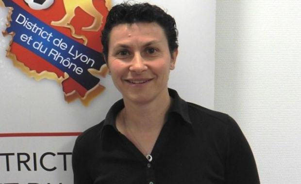 Mylène Chauvot (vice président District Lyon et Rhône et responsable commission Féminines)