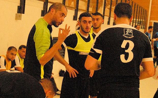 Issa Saffi, le coach du FC Chavanoz