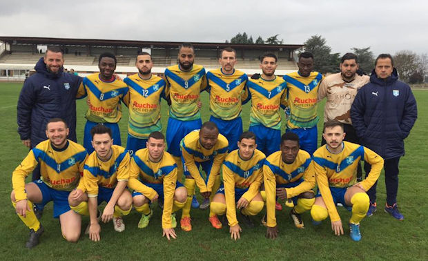 Le Brondillants de Laurent Desfayes ont pu découvrir les charmes de l'Auvergne et de Saint-Flour mais reviennent éliminé de la Coupe LAuRA Foot...