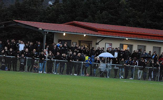 Le derby de R3 entre Sud Lyonais 2013 et le FC Chaponnay-Marennes a fait recette avec 400 personnes au stade de la laine de Communay