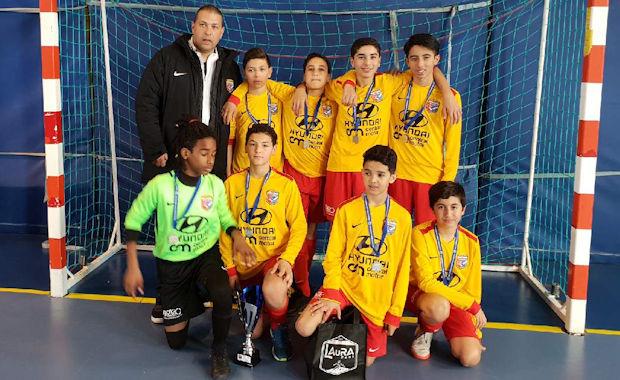 FUTSAL U13 - Les petits du FC VENISSIEUX échouent d'un rien
