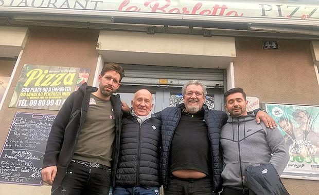 Les ECHOS des RESTOS - Roger NAPOLETANO recrute... au BARLETTA de Vénissieux