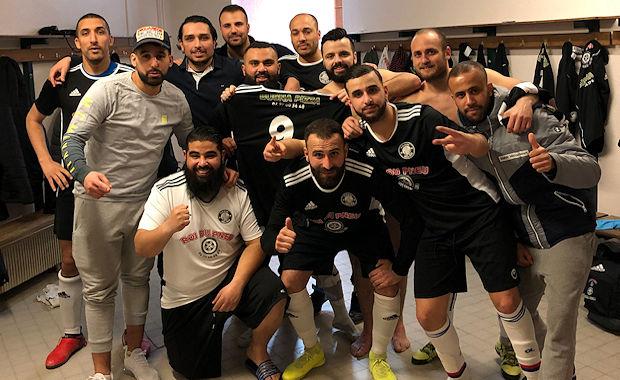 Coupe du Rhône Futsal – La TEAM BEL AIR en demie, FANTOMAS frappe cinq fois !