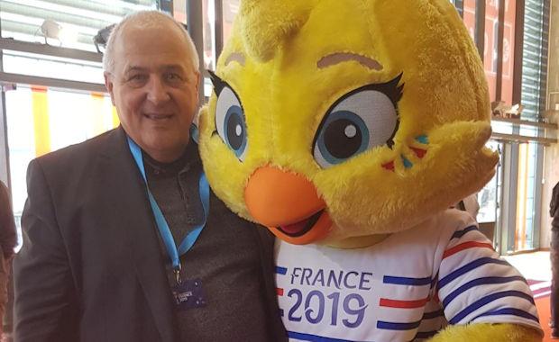 Serge Gourdain (district de Lyon et du Rhône) a pu faire la connaissance d'Ettie