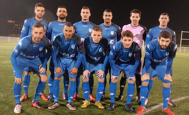 FC LIMONEST-SAINT-DIDIER - Le GROUPE pour la réception du FC VAULX