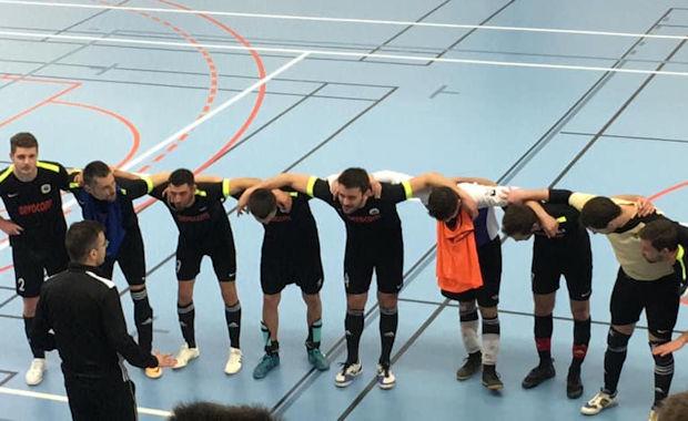 Futsal - SUD AZERGUES Futsal fait Coupe double