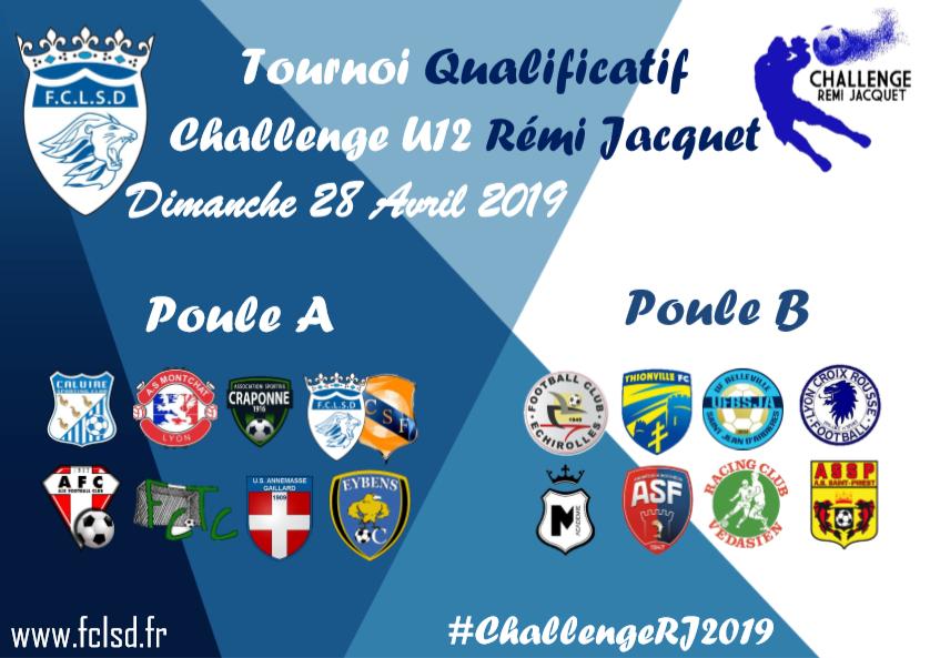 Challenge U12 Rémi JACQUET - Il n'en restera que quatre