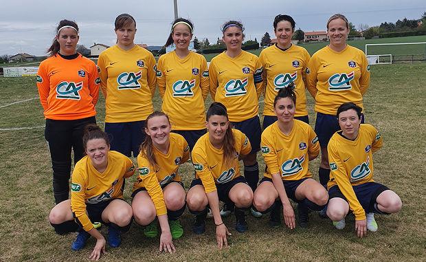 Coupe LAuRA Foot Féminine - Le FC PONTCHARRA SAINT-LOUP n'a pas tremblé