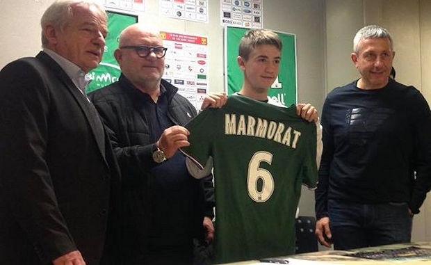 Formation - Mathéo MARMORAT signe trois ans chez les VERTS