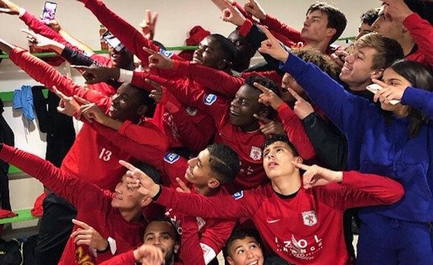 De réussie la saison des U17 peut devenir historique dimanche.