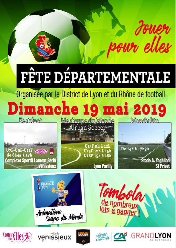 Foot Féminin - La fête départementale, c'est dimanche !