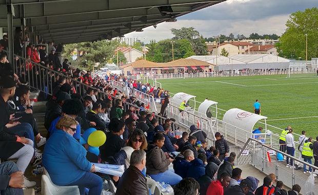 Vuillermet avait fait le plein pour l'occasion (crédit photo FC Lyon)
