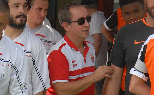 Karim Daha, le directeur sportif de l'Olympique Rillieux
