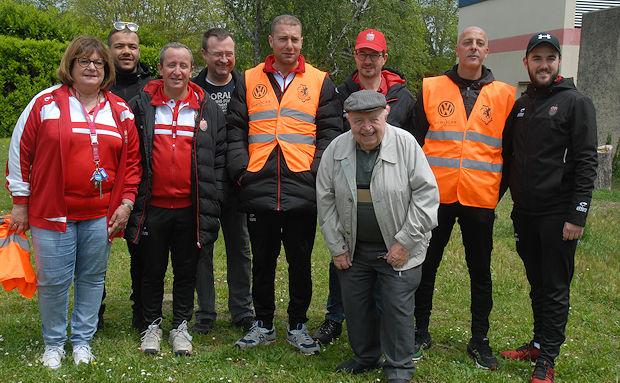 Des bénévoles de nouveau mobilisés à l'Olympique Rillieux.