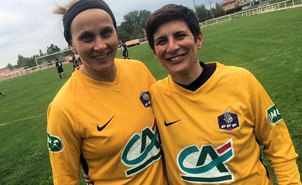 Christelle Peylaboud et Elodie Perrin tirent leur révérence