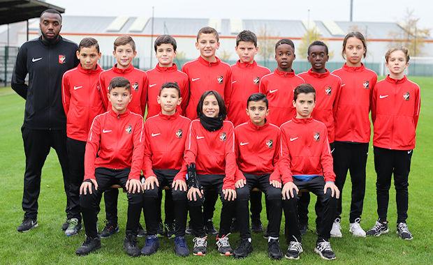 """U12 FC VAULX - Samir-Ahmed BADORO : """"Ils ont la volonté de toujours vouloir produire du jeu..."""""""