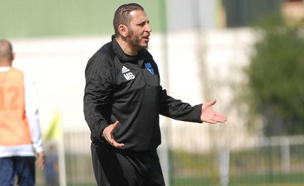 Mourad Boulemtafes a coaché son dernier match de l'O. Belleroche