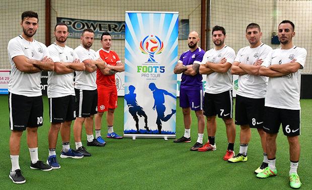 Championne de France 2016 et 2017, la Saba Foot5 Salon de Provence sera à Chazay samedi.