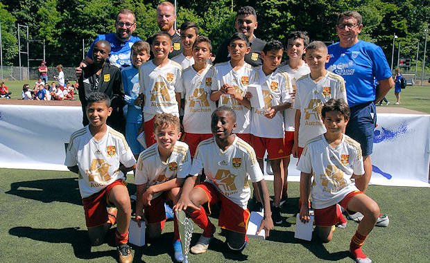 Challenge U12 Rémi Jacquet - Au STADE RENNAIS la victoire, à l'AS SAINT-PRIEST la gloire