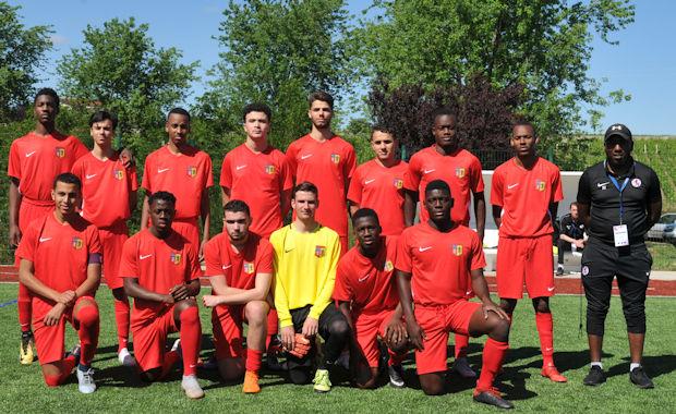 L'ES Trinité, vainqueur de la coupe du Rhône U20