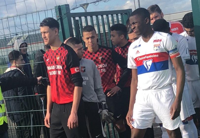 Ridouane Souiri (FC Vaulx) a des touches en Italie