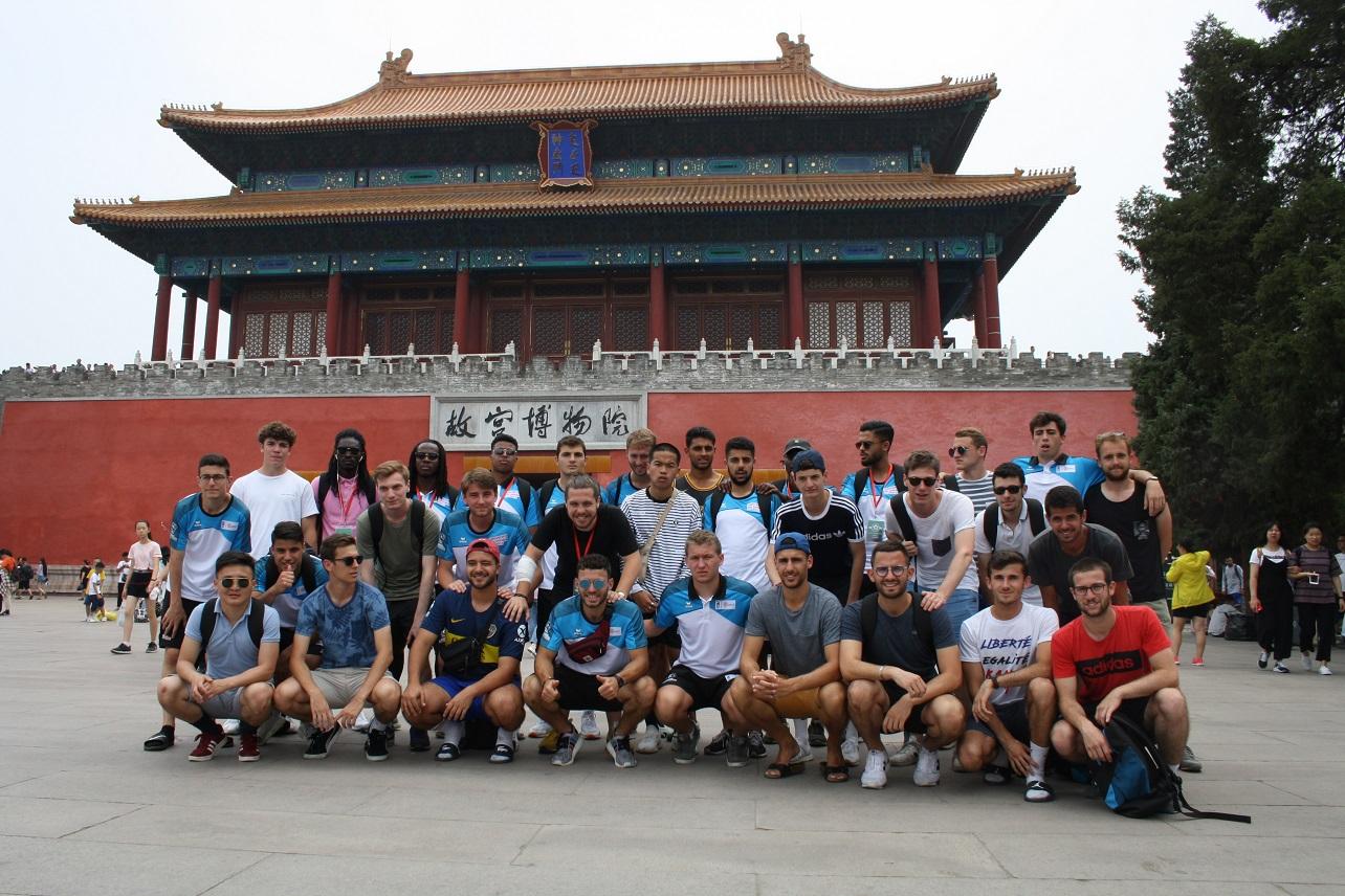 Des équipes de l'Université Lyon 2 et du secteur santé de l'Université Lyon 1 se sont rendues à Pékin