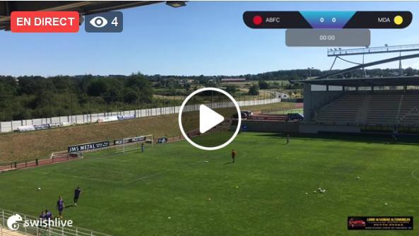 Suivez Andrézieux - MDA Foot en direct vidéo