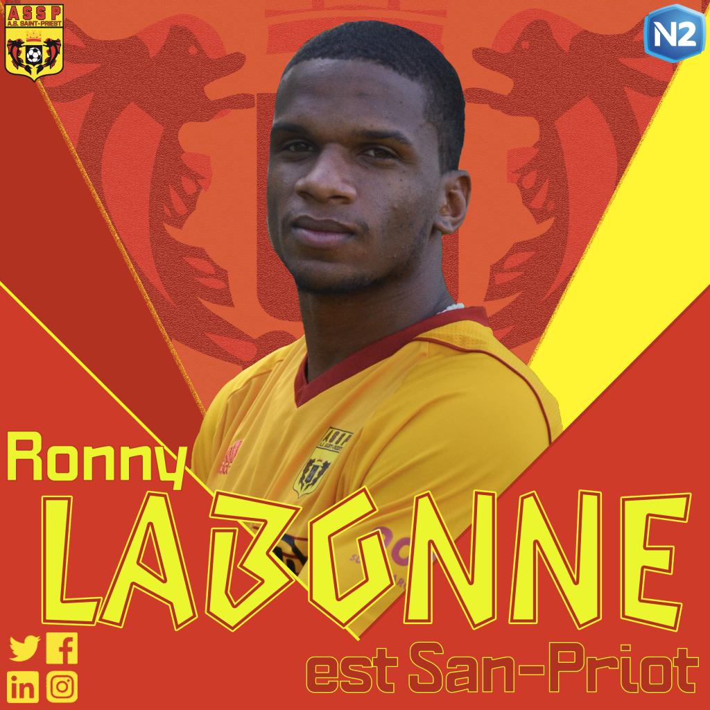Ronny Labonne rejoint l'AS Saint-Priest !