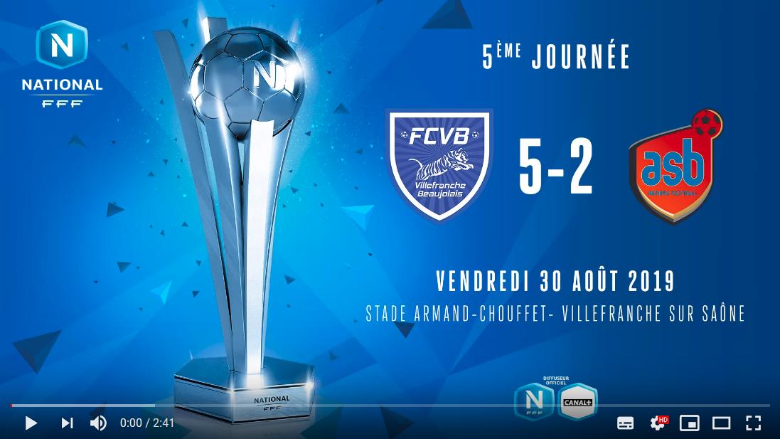 Le résumé vidéo du festival offensif de Villefranche contre Béziers (5-2)