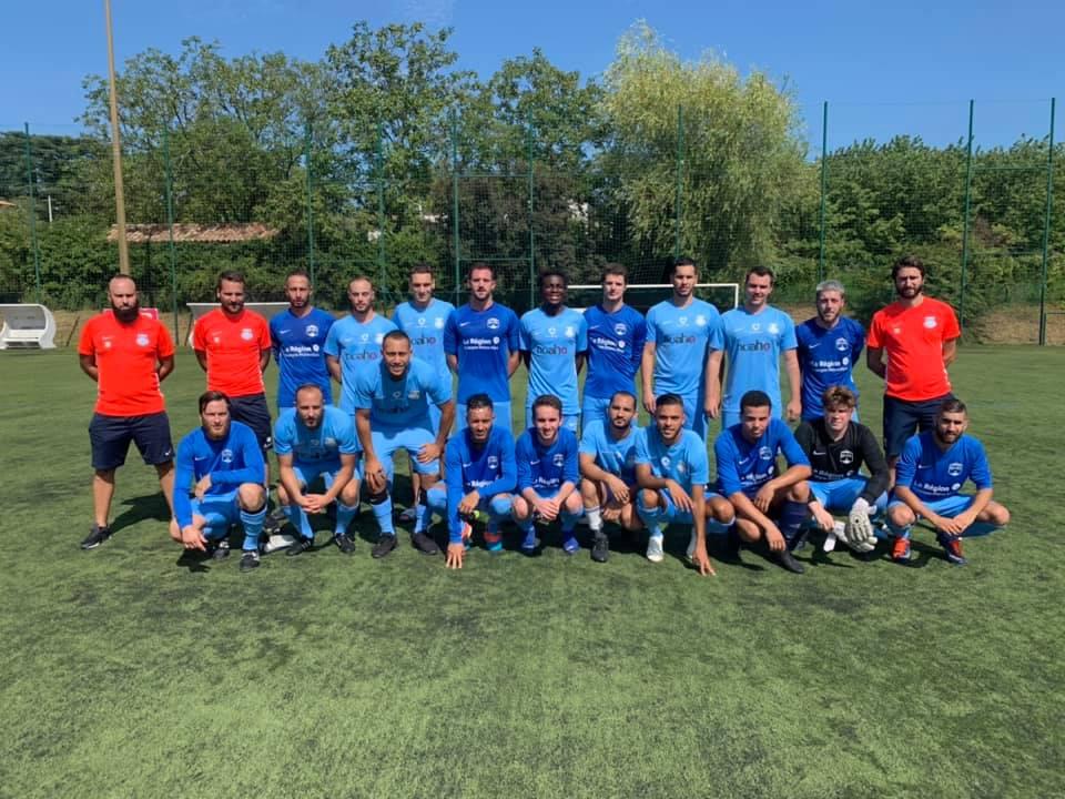 """Clément Guillot (FC Saint-Cyr Collonges) : """"La dynamique actuelle est bonne"""""""