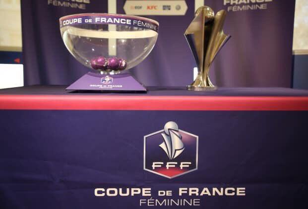 Les qualifiées pour le troisième tour de la coupe de France féminine