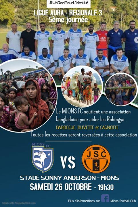 Du foot, une bonne action et un sandwich : le FC Mions se la joue solidaire ce samedi