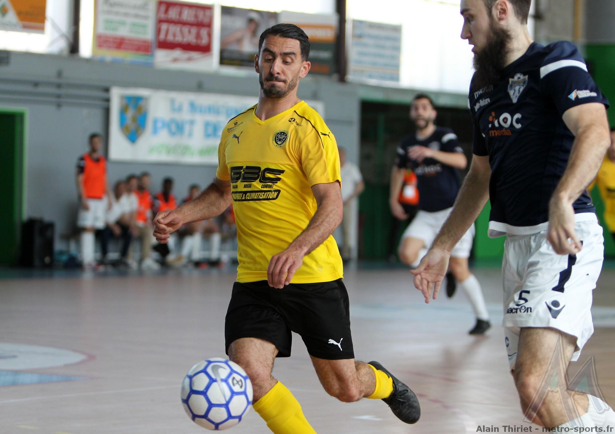 Mehdi Nasri (FC Chavanoz) : «  On vit un rêve éveillé... »