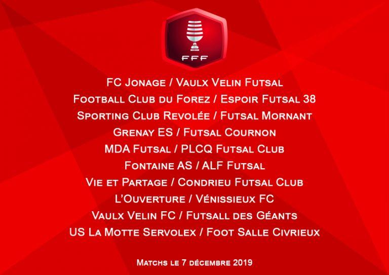 Futsal : les affiches du 4ème tour de la coupe nationale sont connues