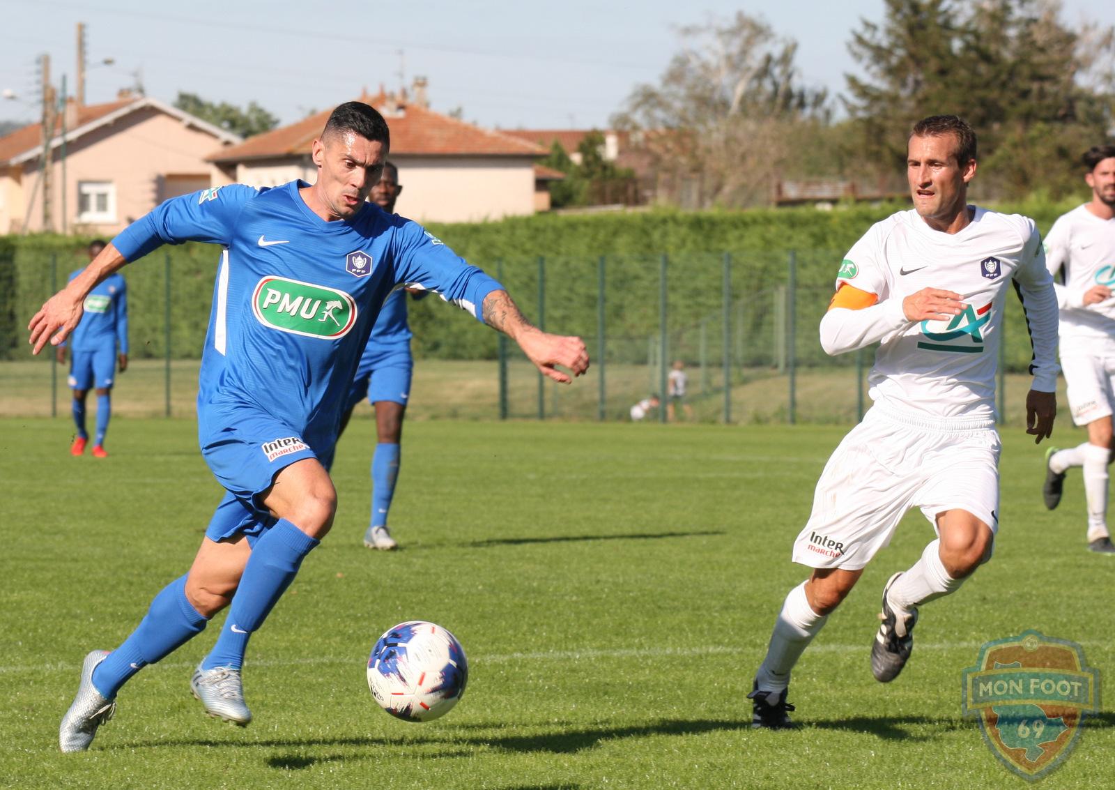 Serge Simon (FC Limonest Saint-Didier): «Si on peut faire une grosse fête à la maison...»