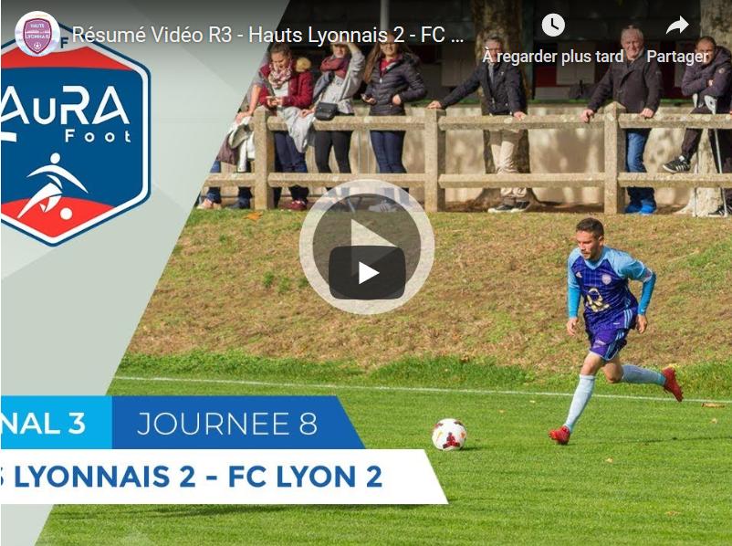 #R3 Hauts-Lyonnais - FC Lyon : le résumé vidéo