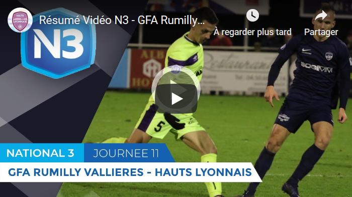 Rumilly Vallières - Hauts-Lyonnais : le résumé vidéo