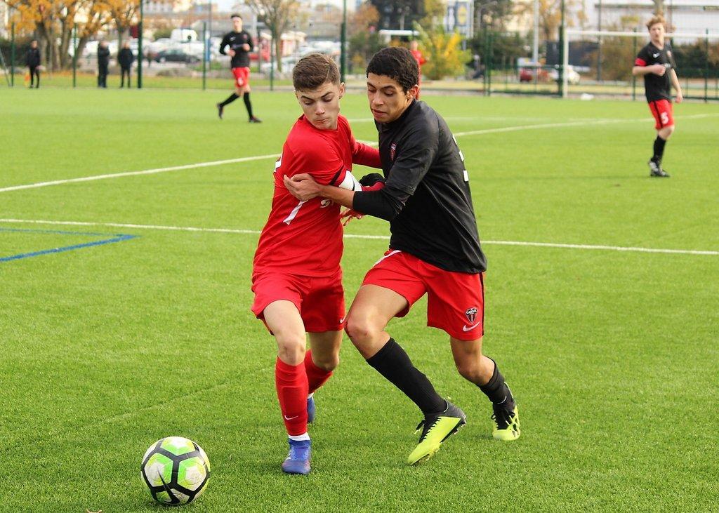 #U16 Valence - CASCOL Oullins (2-0) : les photos de Robert Ageron