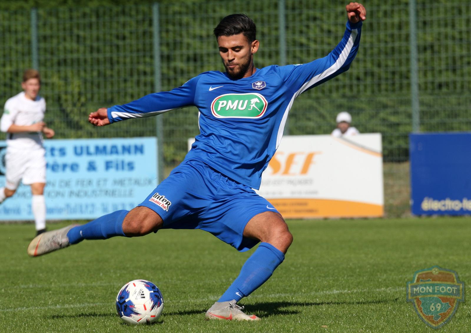 Aziz Bouzit (FC Limonest): «Une superbe aventure à vivre»