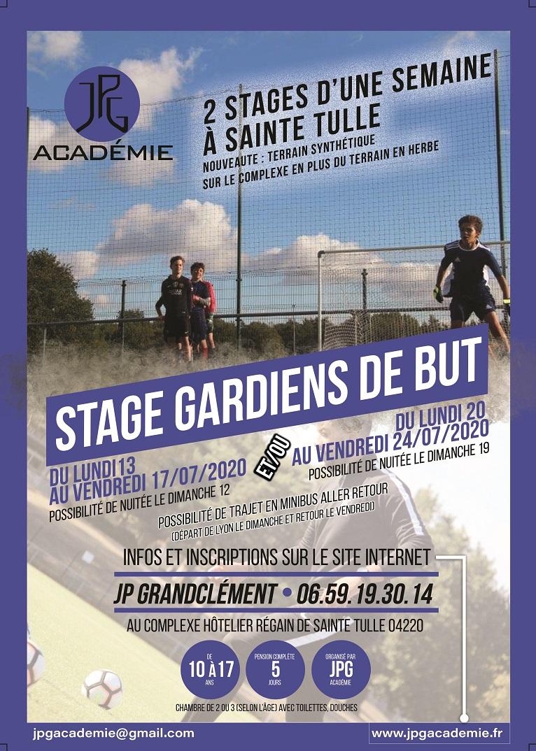 JPG Académie : vous pouvez déjà vous inscrire pour les prochains stages d'été !