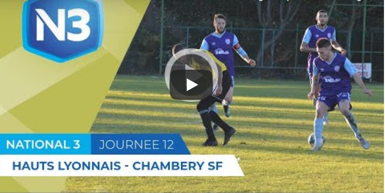 Résumé Vidéo N3 - Hauts Lyonnais - Chambéry SF