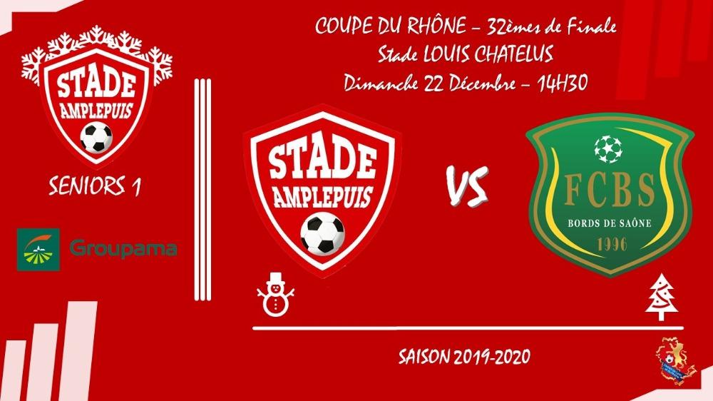 Coupe du Rhône : suivez Stade Amplepuisien - Bords de Saône en direct