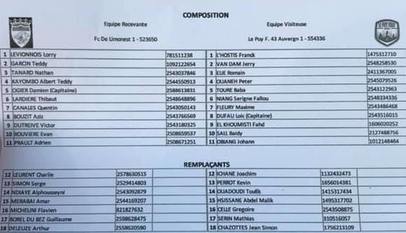 Limonest se qualifie pour les 16e de finale de la Coupe de France !