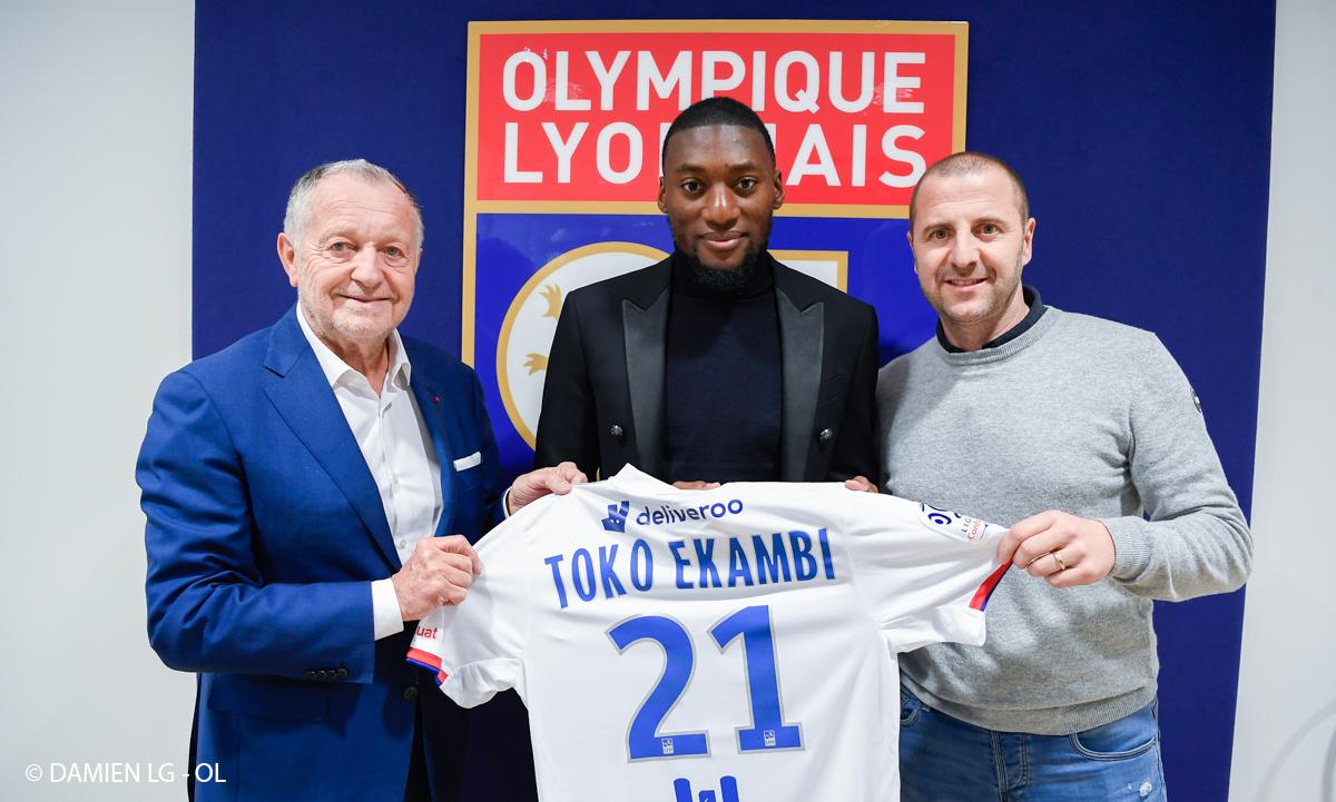 Karl Toko Ekambi rejoint l'Olympique Lyonnais